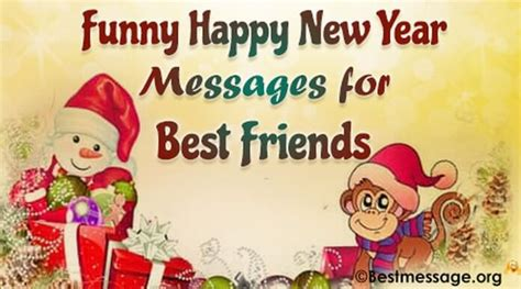 funny happy new year wishes messages for best friends