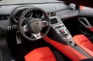 Interior Mobil Lamborghini Intip Kemewahan Interior Lamborghini Aventador Sv Roadster