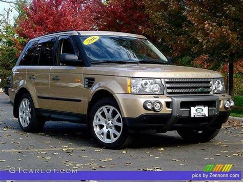 black and gold range rover 2006 range rover sport hse maya gold metallic ebony black