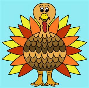 colorful turkey colorful turkey free clipart