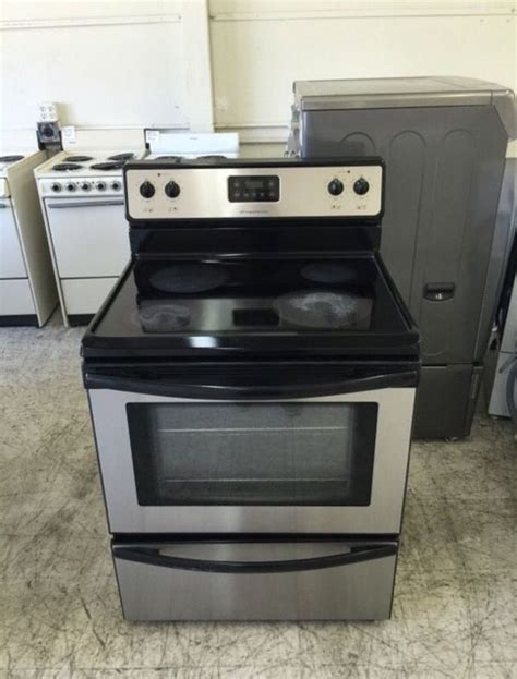 kitchen appliances san jose top popular frigidaire glass stove intended for property