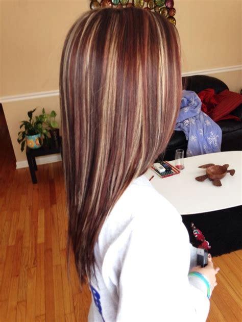 highlights  lowlights  medium hair