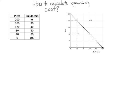 How To Find On Equation For Opportunity Cost Jennarocca