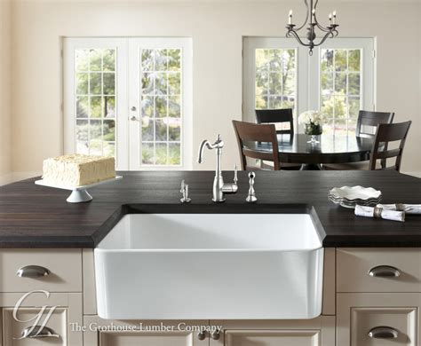 Undermount Kitchen Sink With Faucet Holes by Wenge Wood Countertop In Philadelphia Pennsylvania
