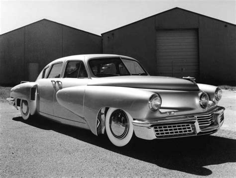 with tucker alex tremulis and the 1948 tucker dean s garage