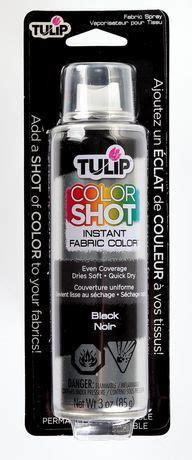tulip colorshot black instant fabric colour spray walmart canada