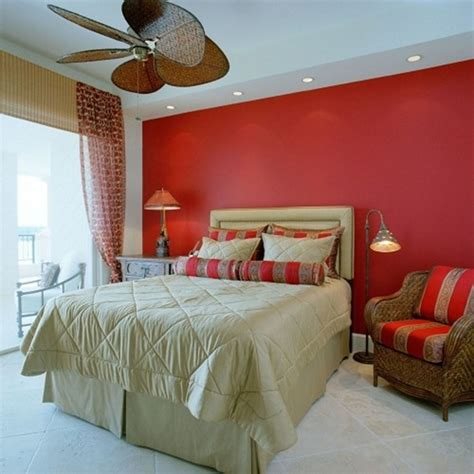 amazing bedroom decor with wall paint and brown pillows and sofa with table l and
