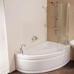 offset shower bath munich offset right hand shower bath