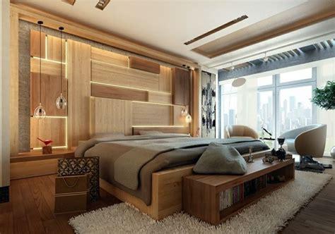 schlafzimmer licht im schlafzimmer akzente mit licht und holz gestalten