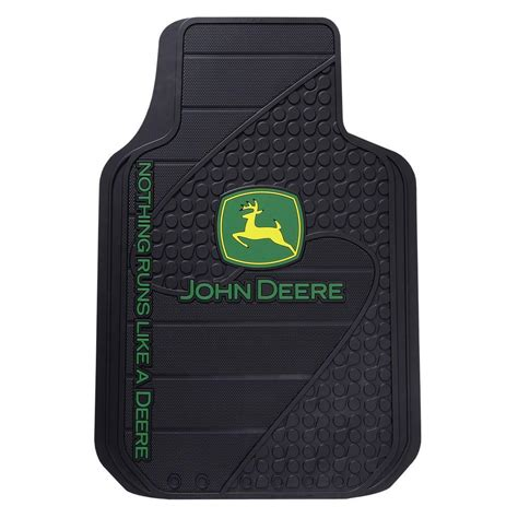 deere heavy duty vinyl 31 in x 18 in floor mat