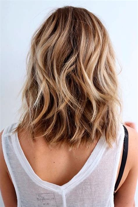 layered beachy medium length haircut best 25 thick medium hair ideas on pinterest medium