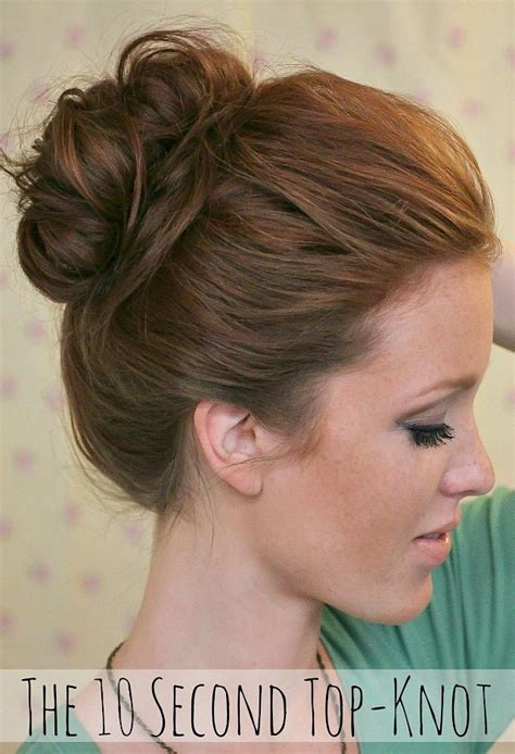 bun hair direction step by step directions for the perfect messy bun