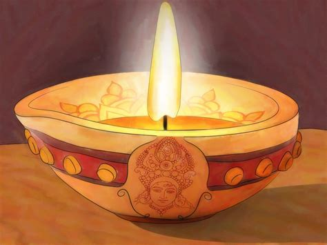 Decorating Home For Diwali 3 Ways To Decorate A Diya Wikihow