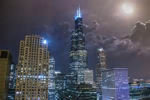 marvelous Willis Tower Formerly Sears Tower #5: Willis-Tower-at-Night.jpg