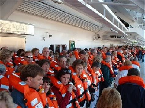Muster Drill how important is the muster drill aboard a cruise ship