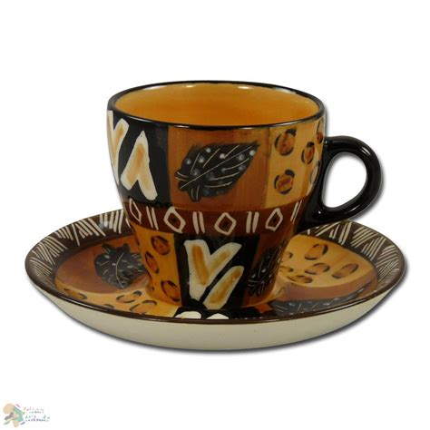 african coffee mugs images coffee cup and saucer quot animal print quot slender shape