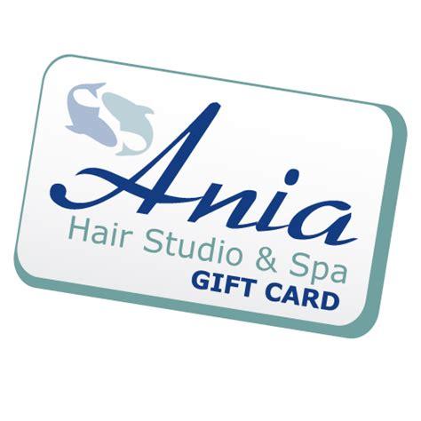 Spa Gift Card Nyc - ania s hair studio spa gift card 50 ania hair studio spa albany ny