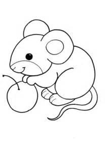 Ausmalbilder Maus – F&252r Kinder sketch template