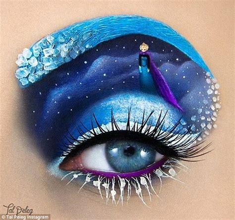 eye on design instagram make up artist tal peleg creates fairy tale