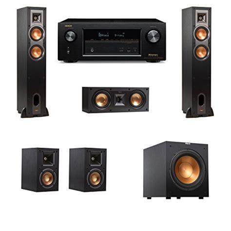 klipsch rf floorstanding speakers  rsw denon