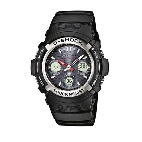 casio awg m100 1a g shock s quartz with black