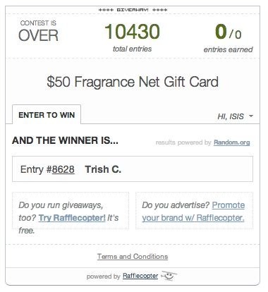 Fragrancenet Gift Card - 50 fragrancenet gift card giveaway bay area mommy