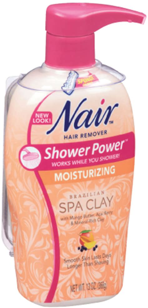 Nair Shower Power Sensitive by With Mineral Rich Clay Mango Butter And Acai Butter Great Skin Results