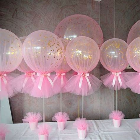 15 easy to make baby shower centerpieces and decoration ideas balloon centerpieces