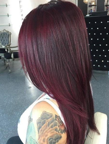 different mahogany hair color styles mahogany hair colors for 2018 new haircuts to try for