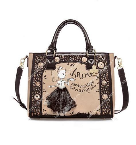 Loli Bags cheap hollow lace sweet retro print bag sale at
