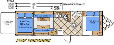 Fleetwood Fifth Wheel Floor Plans 2007 Weekend Warrior Floor Plans Bing Images