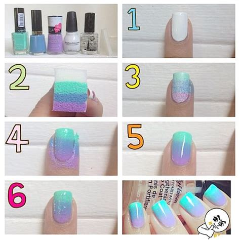 How To Do Nail by How To Do Ombre Nail Nails How