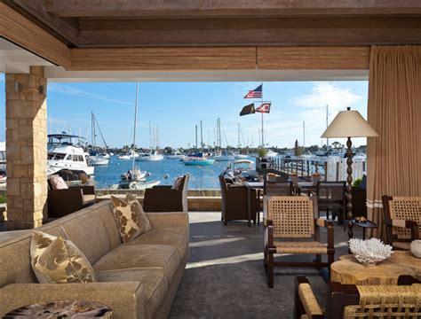 patio pocket doors balboa island house with coastal interiors home
