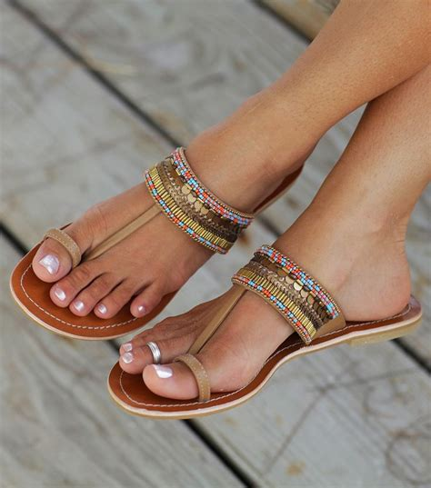 coral lalo beaded leather sandals shoes and
