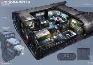 1 Bedroom Efficiency Apartment capsule ib 173 cyberpunk