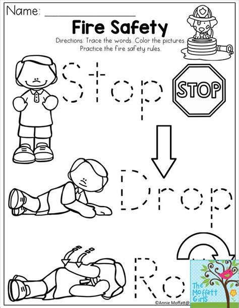 fire prevention coloring pages for kindergarten pinterest the world s catalog of ideas