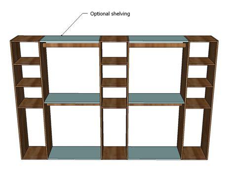 Closet Storage Plans by Woodwork Closet Shelf Woodworking Plans Pdf Plans