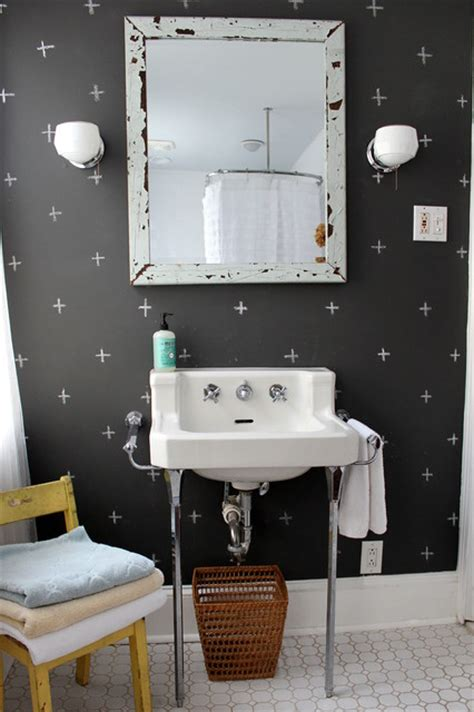 sara bathroom accessories south philly row house eclectic bathroom