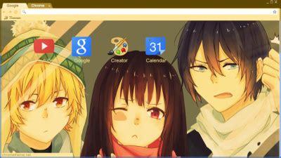 Chrome Theme Noragami   noragami chrome themes themebeta