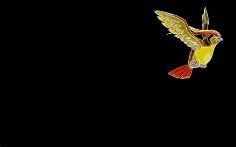 wallpaper dark bird minimalistic birds fractalius pidgeot simple background