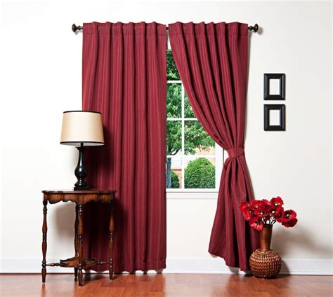 fashion curtains review of best home fashion s pinstripe thermal insulated