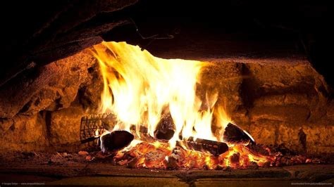 Fireplace Wallpaper by Fireplace Wallpapers Wallpaper Cave