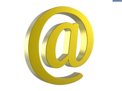 symbol for email at symbol psdgraphics