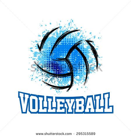 volleyball design stock vectors vector clip art