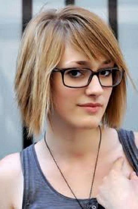 short hairstyles for glasses hairstyles glasses