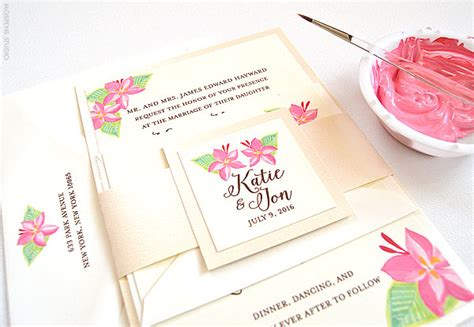 painted watercolor wedding invitations painted floral wedding invitations www