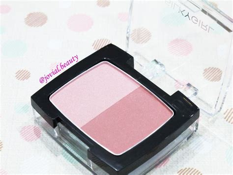 Silkygirl Shimmer Duo Blusher makeup review silkygirl shimmer duo blusher glow