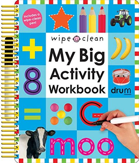 Animal Learn To Write Wipe Clean Activity Book wipe clean my big activity workbook shopping for your