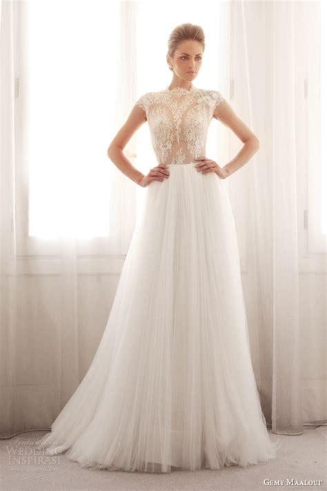Top Wedding Dresses by Gemy Maalouf Bridal 2014 Wedding Dresses Wedding Inspirasi