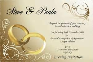 contoh undangan pernikahan dalam bahasa inggris surat